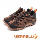 MERRELL ALVERSTONE GORE-TEX防水郊山健行鞋 男鞋 - 棕