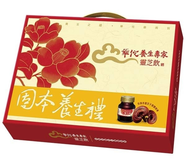 華陀靈芝飲禮盒68ml*8入(素食)【合迷雅好物超級商城】