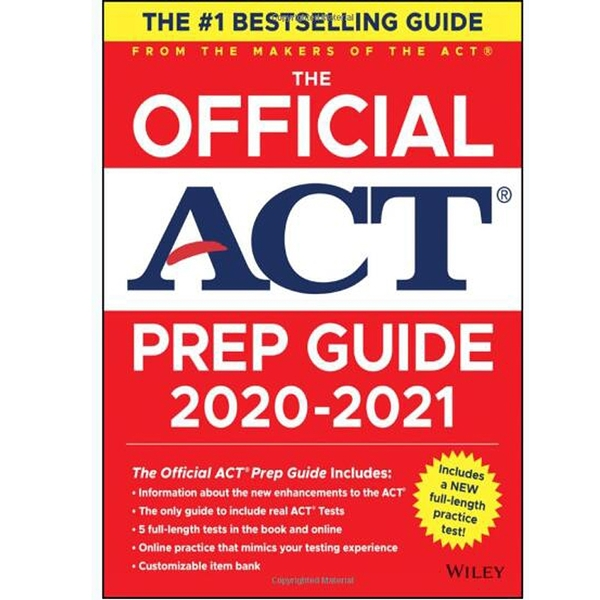 [9美國直購] The Official ACT Prep Guide 2020 - 2021, (Book + 5 Practice Tests + Bonus Online Content) 1st Edition
