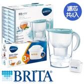 BRITA 馬利拉濾水壺-海島藍(1壺4芯)【愛買】