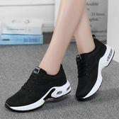 運動鞋 回力女鞋透氣黑色運動鞋女秋季網面休閒鞋輕便氣墊跑步鞋帆布鞋子 poly girl