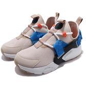 【五折特賣】Nike 休閒鞋 Wmns Air Huarache City Low 米白 藍 白底 綁帶 女鞋 武士鞋【PUMP306】 AH6804-006