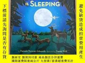 二手書博民逛書店while罕見the world is sleeping(英文原