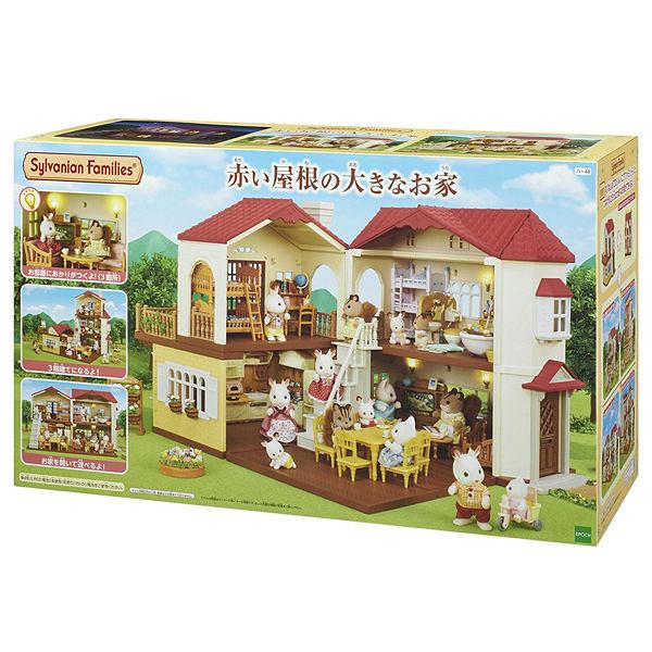 《 森林家族 》森林附燈別墅 ╭★ JOYBUS玩具百貨
