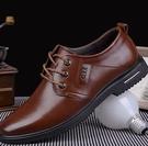 男皮鞋 皮鞋男黑春季軟底男士真皮休閒商務正裝鞋子男鞋【快速出貨八折搶購】