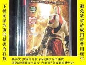 二手書博民逛書店罕見God of War Chains of Olympus 戰