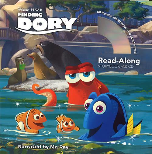 【麥克書店】FINDING DORY (海底總動員2) /英文繪本附CD‧聽迪士尼說故事