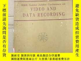 二手書博民逛書店IERE罕見golden jubilee conference on video and data recordi