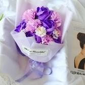 特賣畢業護士禮物仿真康乃馨香皂花束禮盒創意母親節送給媽媽生日禮品伊蘿精品