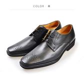 Waltz-「MIT」高規格雕花紳士鞋514038-02黑
