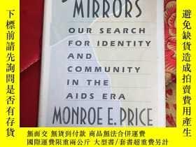 二手書博民逛書店【罕見】Shattered Mirrors【精裝 有印章】【英文