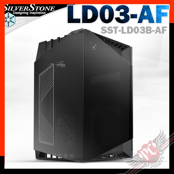 [ PCPARTY ] Silverstone LD03-AF 黑 迷你機殼 SST-LD03B-AF