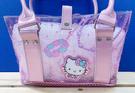 【震撼精品百貨】Hello Kitty_凱蒂貓~Sanrio HELLO KITTY防水肩背包/手拿包-首飾#64693
