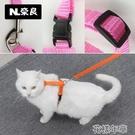 錨鏈繩子小奶小號寵物貓牽貓繩調節溜摺耳貓咪用品貓鏈子幼貓 快速出貨