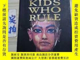 二手書博民逛書店KIDS罕見WHO RULEY330094 Chairs Cot
