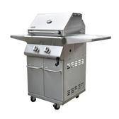 CSPS江井精工豪華型2爐頭升降烤網瓦斯烤肉爐 304白鐵 均溫佳 標準局認證