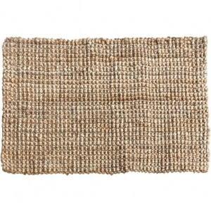 亞麻地毯60x90cm 自然色