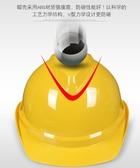 豪華ABS安全帽工地施工領導建筑工程頭盔透氣勞保男 挪威森林