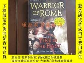 二手書博民逛書店英文原版:WARRIOR罕見OF ROME part 1 Fir