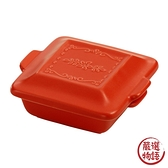 【日本製】【HyggeStyle】 美濃燒耐熱陶器系列 焗烤盤 小 紅色 SD-6364 - 日本製 美濃燒