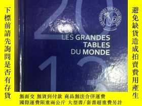 二手書博民逛書店LES罕見GRANDES TABLES DU MONDE 201