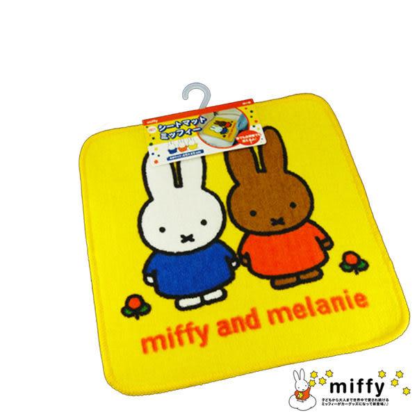 明邦 米菲米飛兔MIFFY 汽車椅墊 座墊坐墊 軟墊墊子地墊靠墊 車用配件裝飾卡通 日本進口正版 180201