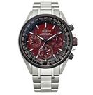 CITIZEN 星辰 東京紅限量版 鈦金屬GPS衛星計時腕錶 CC4005-71Z
