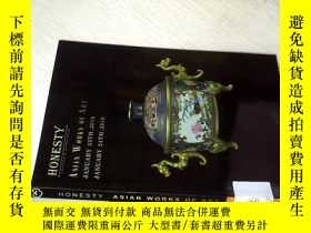 二手書博民逛書店HONESTY罕見ASIAN WORKS OF ART JUNU