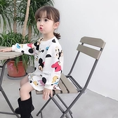 長袖洋裝 秋冬款女童可愛連衣裙