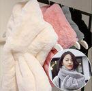 珊瑚絨素色毛絨保暖圍脖 圍巾 親子款小孩也可以用  新年寒流 橘魔法Baby magic 現貨 親子裝