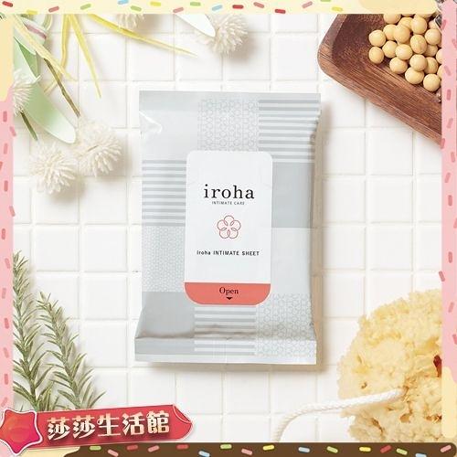 送潤滑液 TENGA iroha INTIMATE CARE iroha INTIMATE SHEET 依柔華私密護膚濕巾