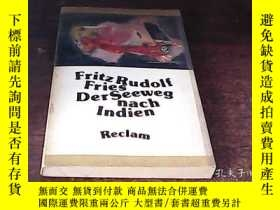二手書博民逛書店FRITZ罕見RUDOLF FRIES DERSEEWEG NA