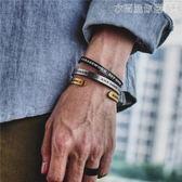 手鐲潮牌北歐美式街頭復古港風男女手環字母數字開口情侶鈦鋼手鐲 衣間迷你屋