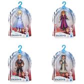 【Hasbro 孩之寶】冰雪奇緣2 迷你公主人物組(四款可選)