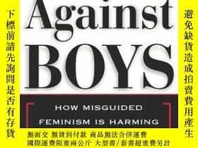 二手書博民逛書店War罕見Against Boys, The How Misguided Feminism Is Harming