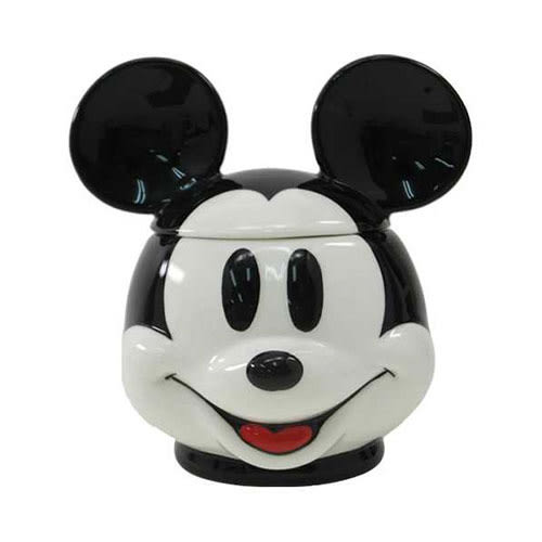 《sun-art》迪士尼人物大臉3D馬克杯附蓋(米奇)★funbox生活用品★_NR23216