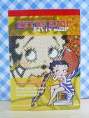 【震撼精品百貨】Betty Boop_貝蒂~便條本-黃國旗
