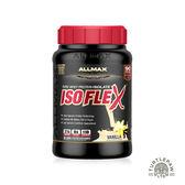 【加拿大ALLMAX】奧美仕ISOFLEX分離乳清1瓶香草口味飲品(907公克)