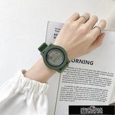 手錶ins超火電子手錶女獨角獸韓版中學生簡約氣質復古防水運動原宿風 【雙十二狂歡】