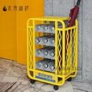 雨傘架 放傘收納神器學校班級公司門口酒店大堂摺疊雨傘架放置桶 每日下殺NMS