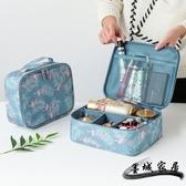 化妝包 網紅化妝包ins風超火小號女便攜大容量旅行隨身袋洗漱包品收納盒