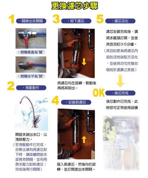 H-104  /H104濾心 台灣愛惠浦公司貨..適用 QL3-H104 / QL3H104 / QL2-H104