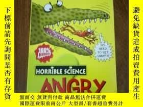 二手書博民逛書店Horrible罕見science--angry animals