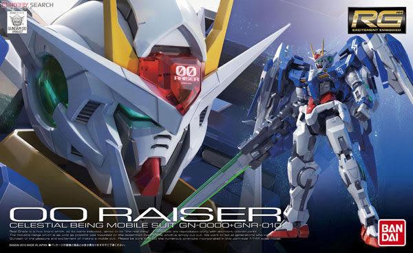 鋼彈模型 RG 1/144 GN-0000 + GNR-010 00 RAISER 鋼彈00 強化模組 TOYeGO 玩具e哥