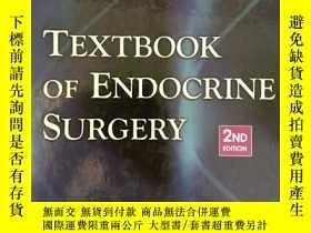 二手書博民逛書店Textbook罕見of Endocrine SurgeryY2