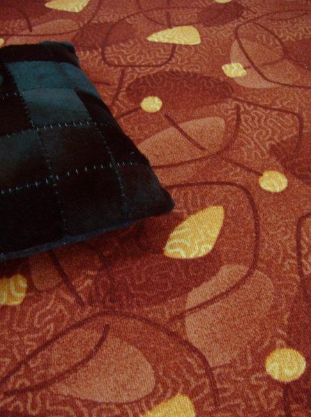范登伯格 蘭禾圈毛編織地毯-紅100x150cm