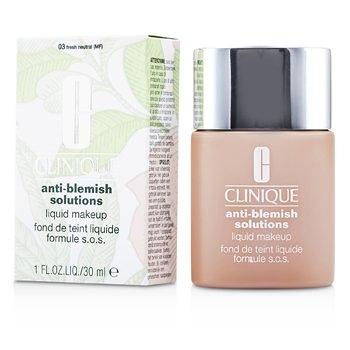 SW Clinique倩碧-130 無油光淨痘粉底 Anti Blemish Solutions Liquid Makeup - # 04 Fresh Vanilla