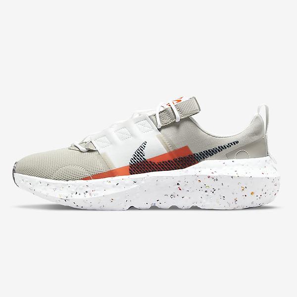 Nike Crater Impact 男鞋 休閒 輕量 避震 透氣 環保理念 卡其 橘【運動世界】DB2477-210