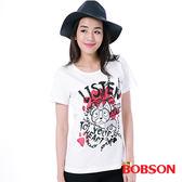 BOBSON 女款印圖上衣  (26093-81)