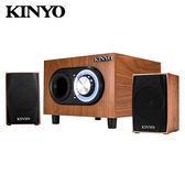 【KINYO 耐嘉】2.1聲道多媒體音箱(KY-1703)